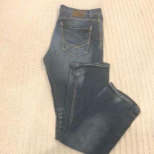 BKE Jake Straight Jeans size 38 inseam 34